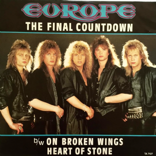 "Europe - The Final Countdown (12"") (G+/VG-)"